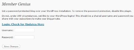 Wordpress Membership Site Plugin - Free